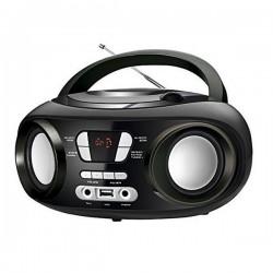 Radio CD Bluetooth MP3 BRIGMTON W-501 USB Negro Electrónica