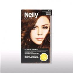 SET TINTE NELLY 5/95  MARRON CHOCOLATE